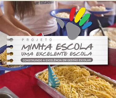 Cenas do Video Minha Escola uma Excelente Escola