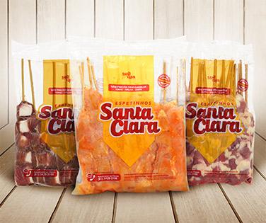 Produtos Espetinhos Santa Clara
